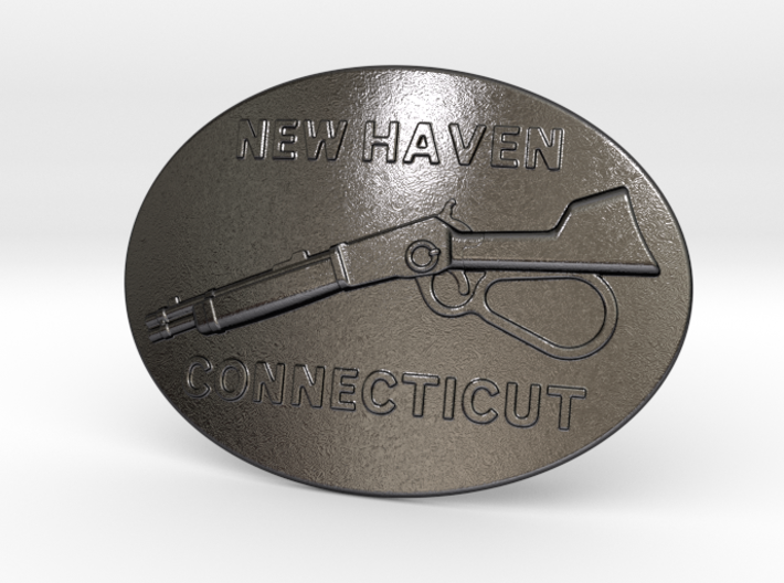 Winchester Belt Buckle 3d printed