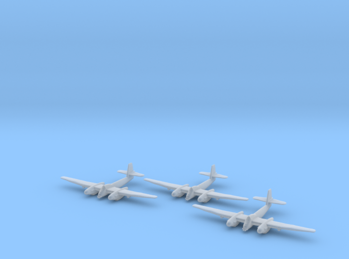 Westland Welkin with bombs 1:285 x3 FUD 3d printed