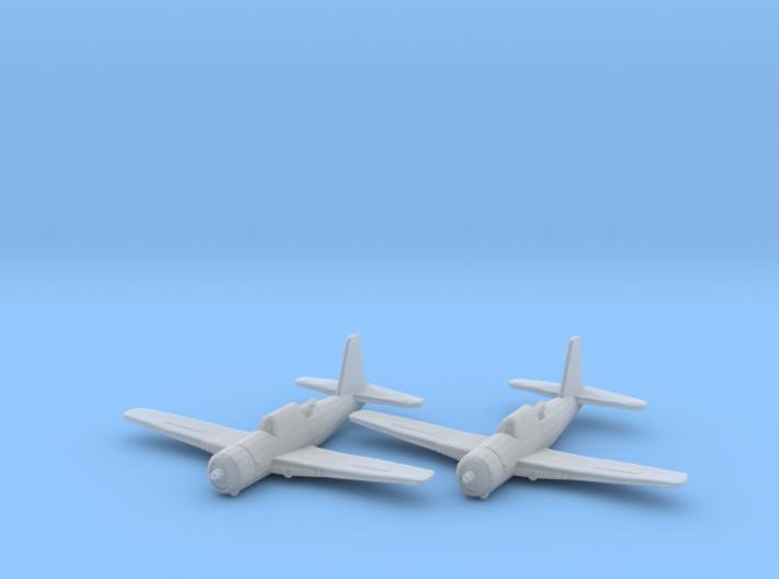 Vultee A-35 'Vengeance' 1:200 x2 FUD 3d printed
