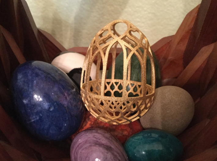 Gothic Egg Shell 3 3d printed