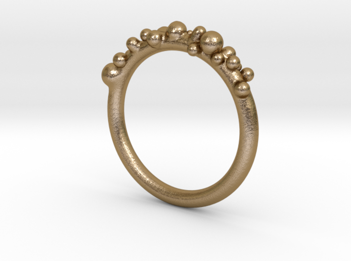 Bubble Ring (17mm) 3d printed