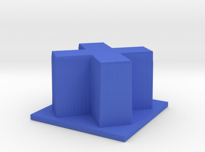Hour of Code : Cross 3d printed