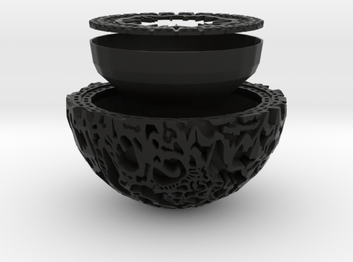 Guardians of the Galaxy Plant Pot 3d printed