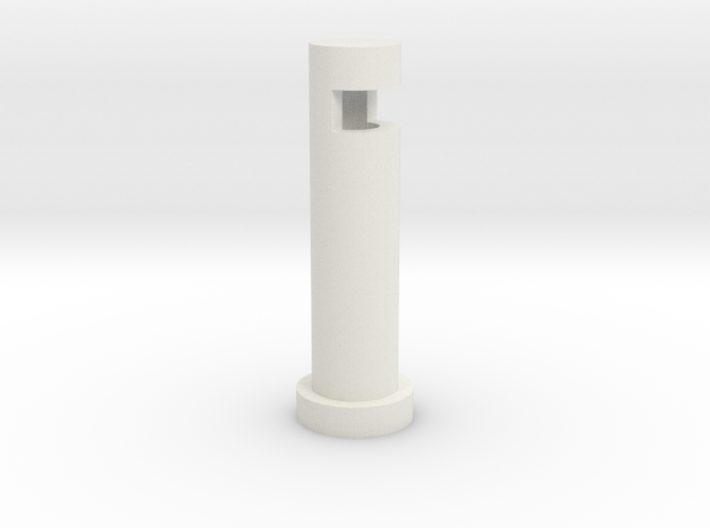 Bollard Fiber Optic 3d printed