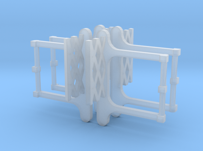 HO BSL 1938 South Broad Subway Car End Gates 3d printed