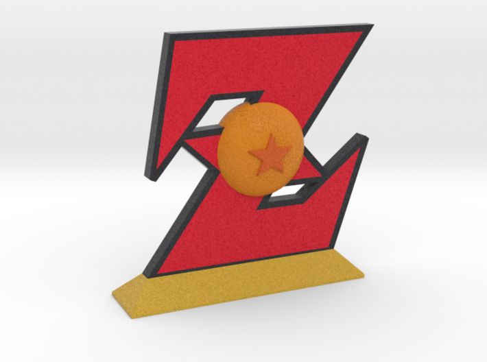 Dragon Ball Z Emblem 3d printed