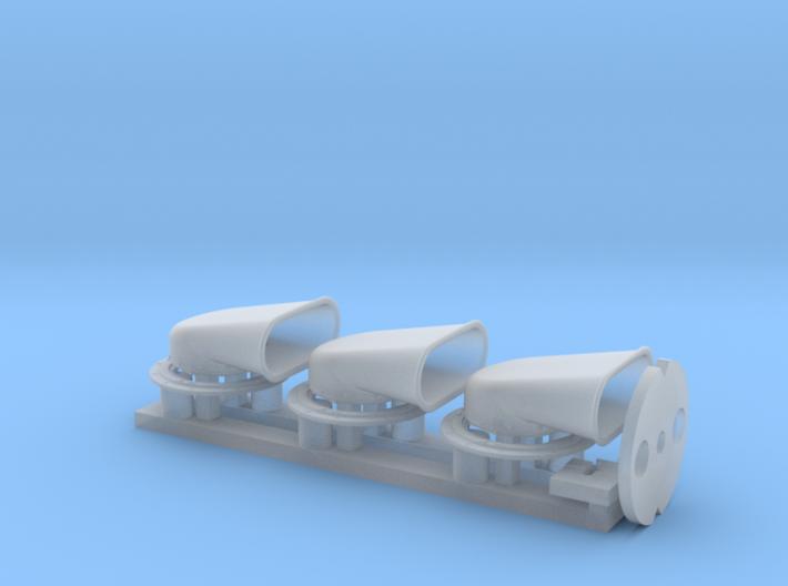CH Vents 1/16th Elco 80' Qty 3 3d printed