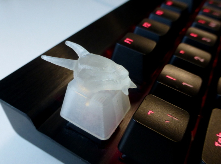 Dragon Topre Keycap 3d printed
