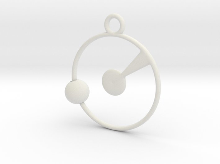 Orbit Pendant 3d printed