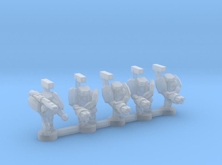 UWN Trooper 3d printed