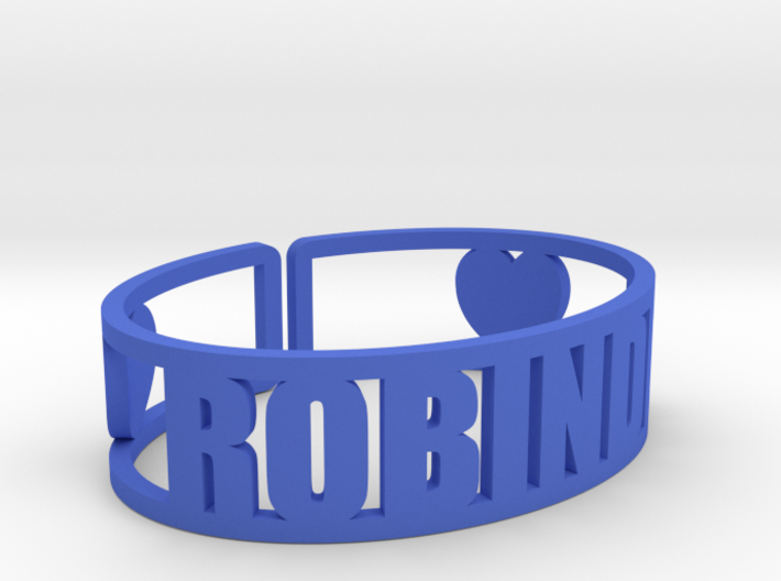 Robindel Cuff 3d printed