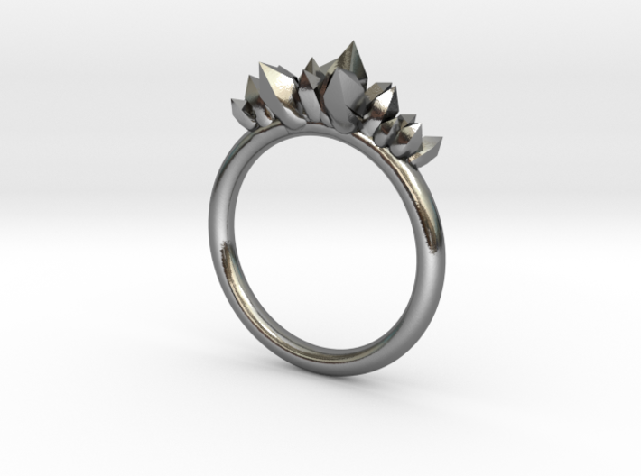 Crystal Ring (17mm) 3d printed