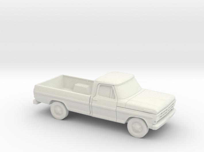 1/87 1972 Ford F-Series Reg. Cab 3d printed