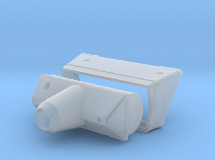 M50 Mantlet and Collar 3d printed