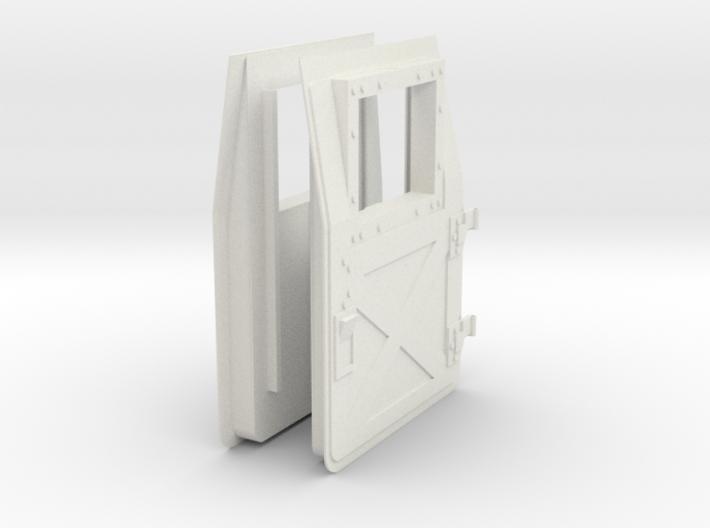 1:6 scale Hasbro HMMWV Doors 3d printed