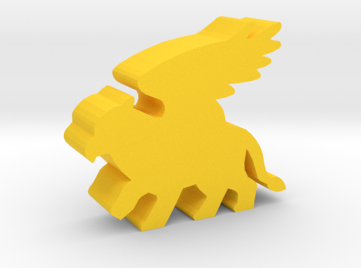 Game Piece, Griffin 3d printed