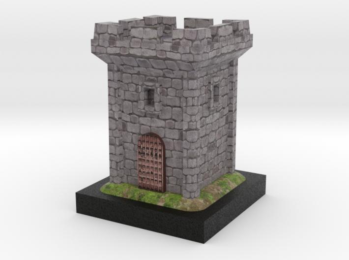 Medieval Tower 3d printed