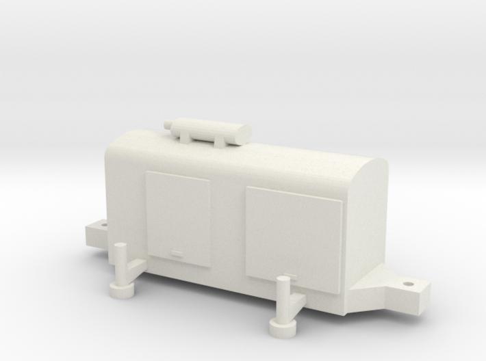 TT (1/120) German Generator for AA battery or sear 3d printed
