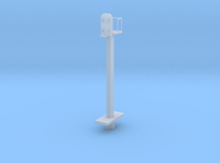 Hl-Signal Blocksignal Mit Korb Und Mast 3d printed