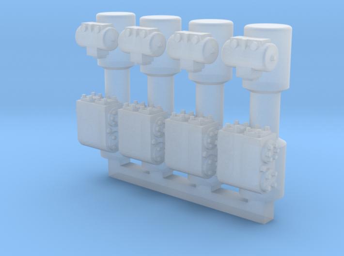 4 Weir Pumps 3d printed