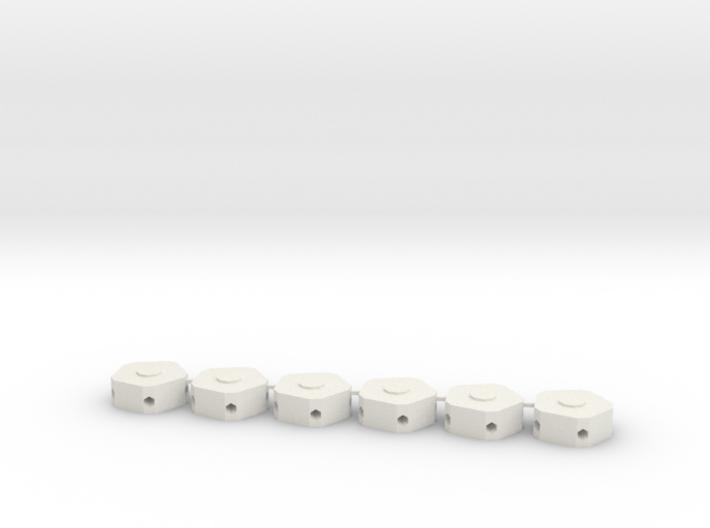 MGD-02 (6x): A Set with 6 Penta-parts 3d printed
