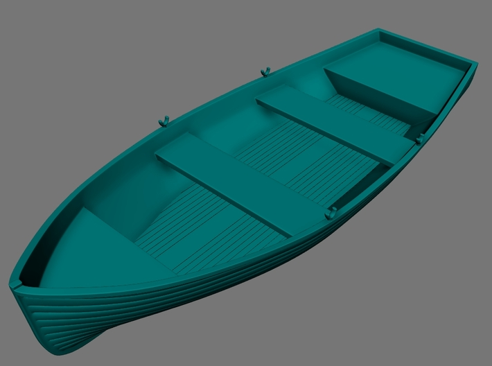 1/96 Wherry Life Raft Boat 3d printed