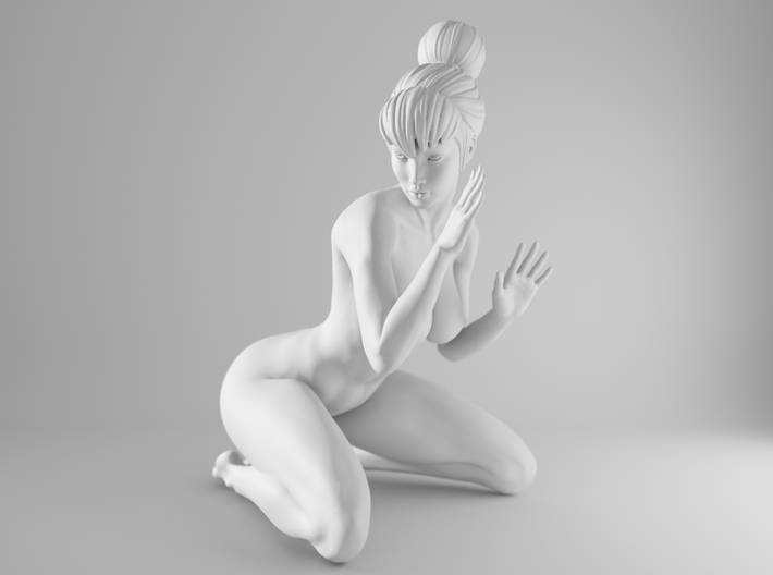 1/10 Sexy Girl Sitting 005 3d printed