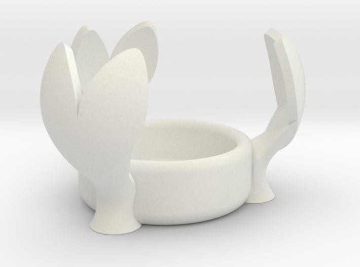 3 Heart Tealight Shader 3d printed
