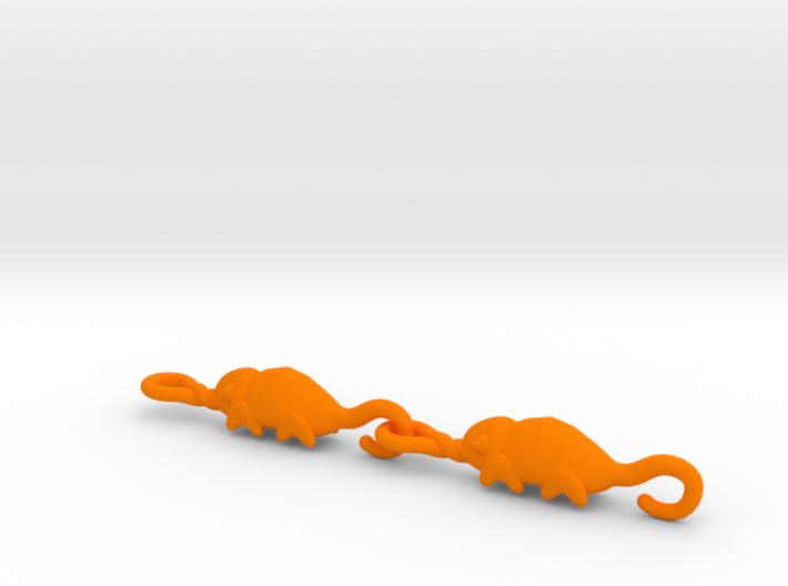 Chameleon bracelet - 2 pieces pack 3d printed