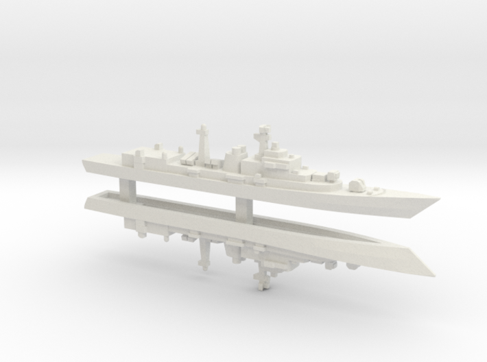 Type 052 Destroyer x 2, 1/2400 3d printed