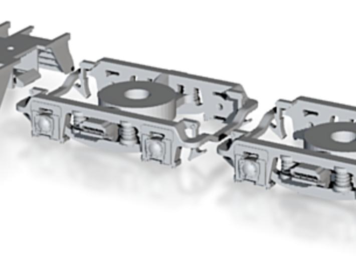 N Scale Lima PRR P70 Upgrade W/Roller Brg 2DP5 Tru 3d printed