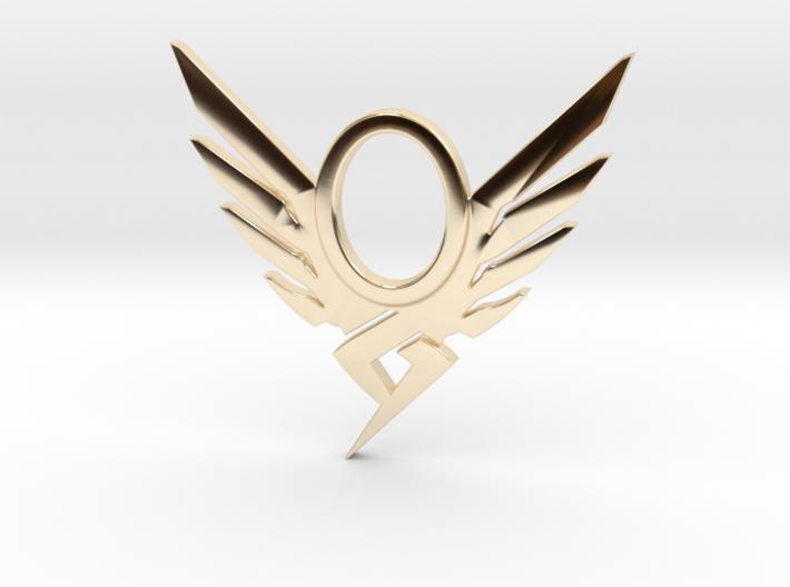 Mercy Pendant 3d printed
