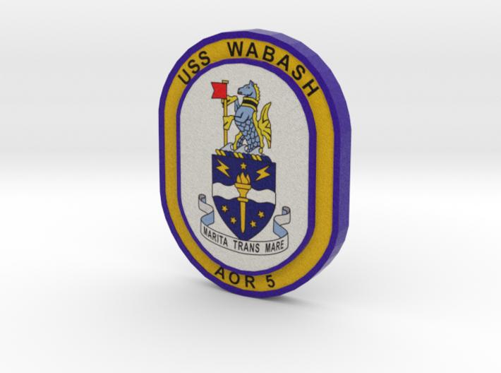 Wabash Logo 3d printed
