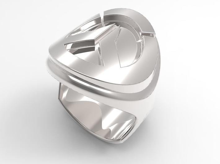 Overwatch logo ring 3d printed