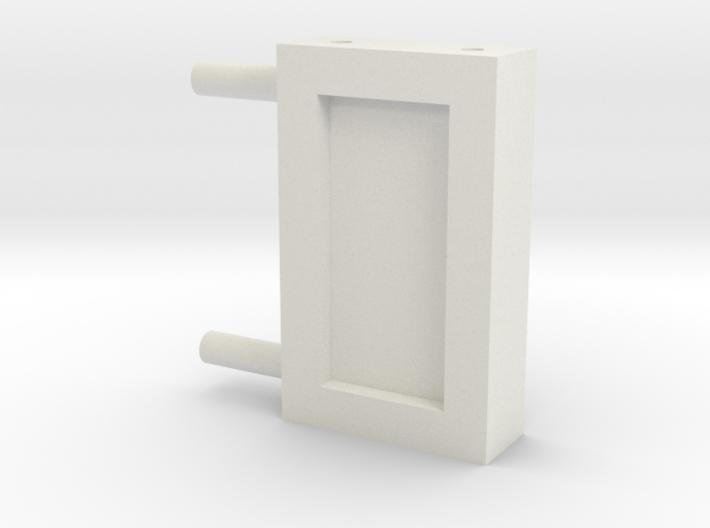 Zaunhalter Querträger 43mm Türseite Klein 3d printed