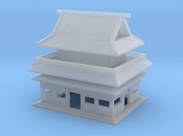 Tonneru Temple 3d printed