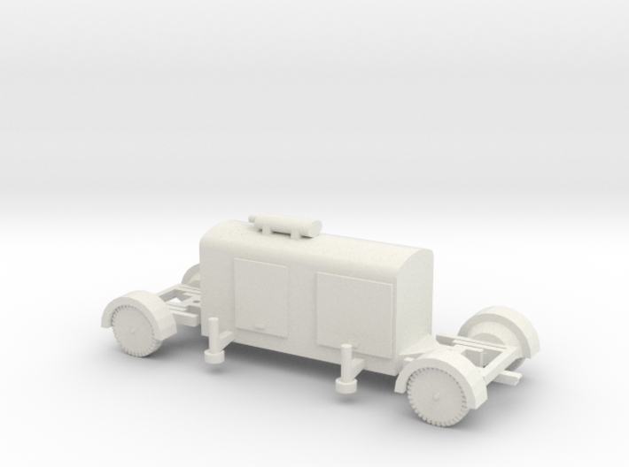 TT (1/120) German Generator trailer 3d printed