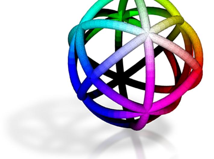 Rhombicage-r3-s25-o2-n12-dTrue 3d printed