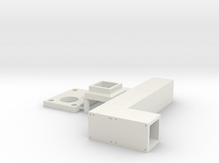 Pfeiler Winkel Schablone 3d printed