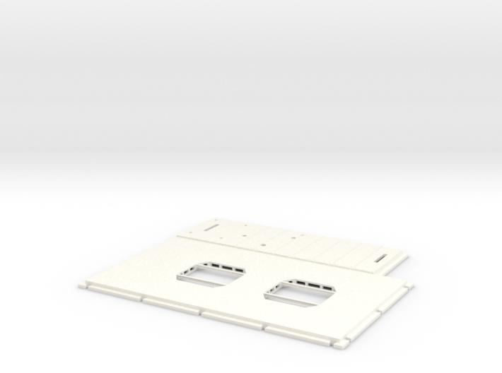 DeAgo Millennium Falcon Floor Extended 3d printed