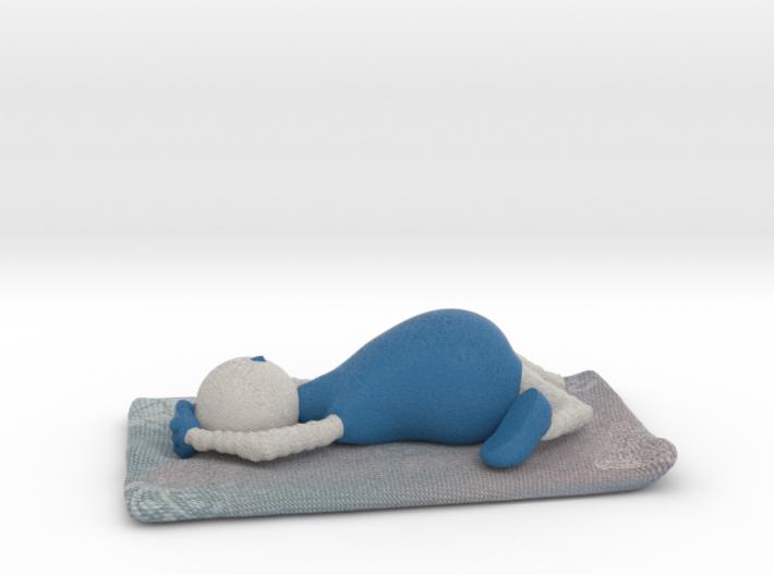 Yoga Pose 6 - 1028N 3d printed