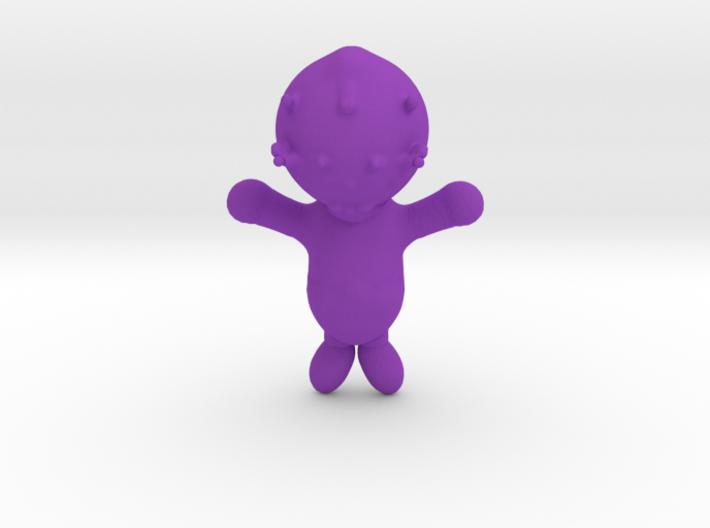 Alien baby 3d printed