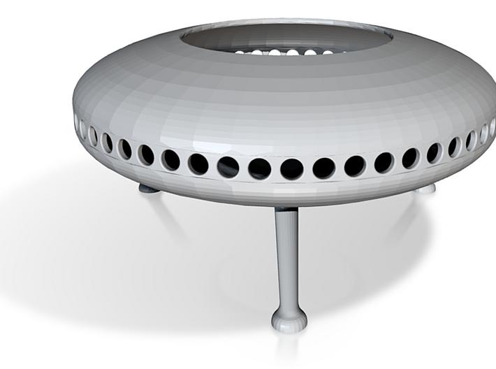 Tealight Saucer mk2.stl 3d printed