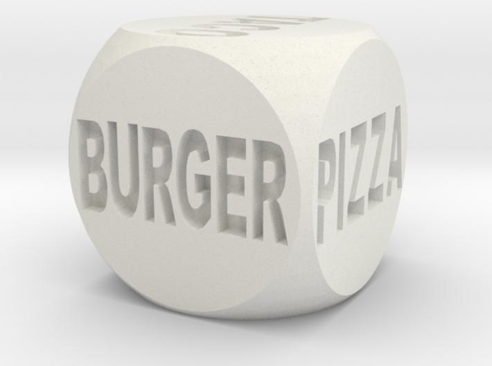 Fast Food Decision Die 3d printed