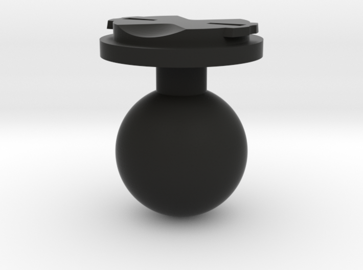 Garmin Edge Male Mount To 1 Inch Ball 3d printed