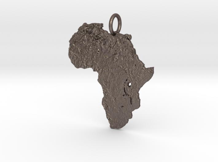 Satellite Mother Land Pendant 3d printed