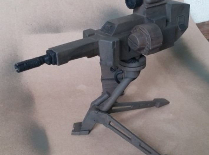 1/6 scale Sentrygun 3d printed Pic courtesy of BigBisont from the Aliens Legacy board.