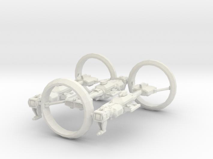Modulon S1T1 (x3) 3d printed