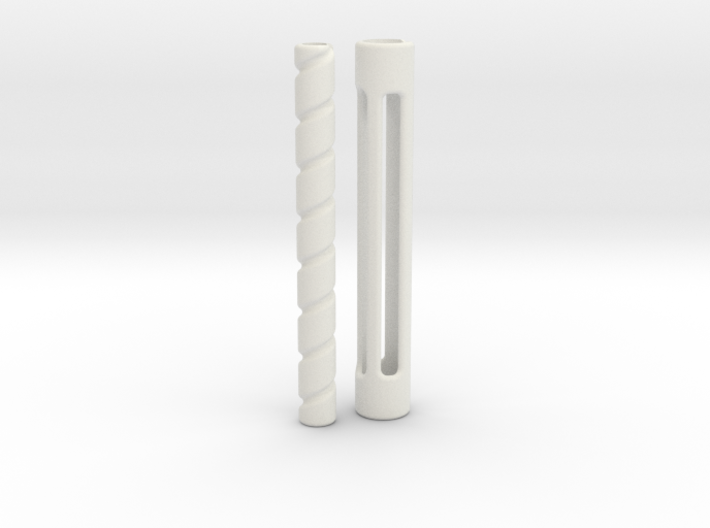 Hair curler for LeGrand Doll MSD 1/4 scale 3d printed