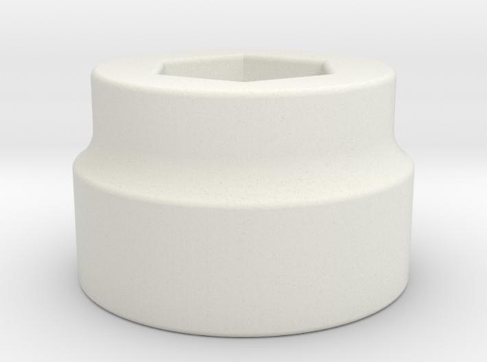 Adapter for Tesla License Plate Socket 3d printed